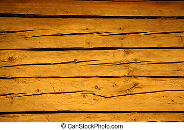 old cracked brown wooden planks background
