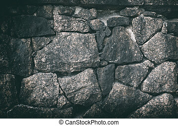 cracked natural stone wall background