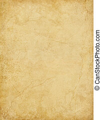 Old Cracked Paper - Old card stock paper with subtle stains...