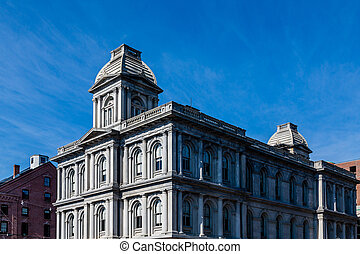 Old Customs House in Portland Maine