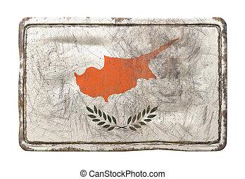 Old Cyprus flag