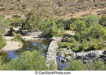 Old dam at Mission Trail