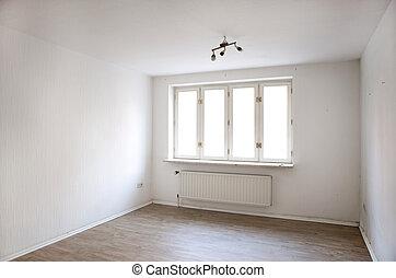 old damp apartment