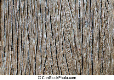 Old dark brown wood texture. Abstract background