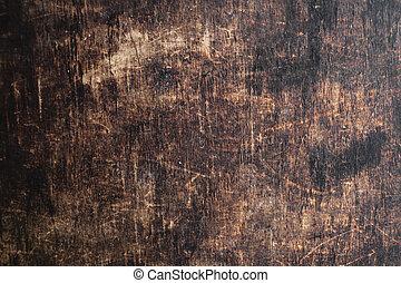 Old dark brown wooden texture background. Natural vintage Backdrop.
