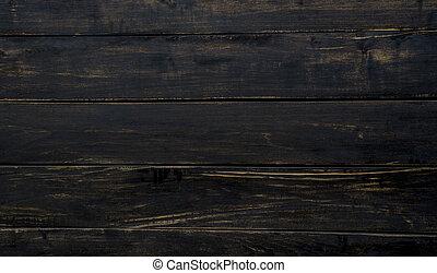 Old dark wood texture background.