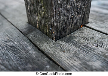 Old dark wood texture natural pattern wooden planks