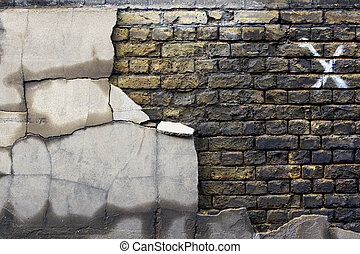 Old Decaying Bricks