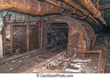 Old derelict mine.