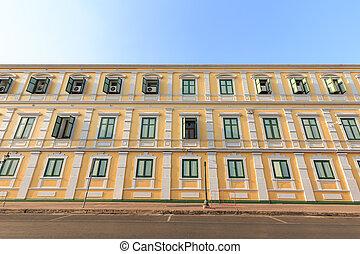 Old design building
