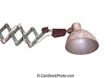 old desk lamp