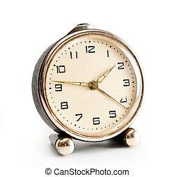 old desktop alarm clock