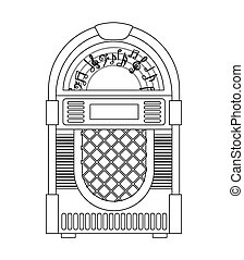 old device design, vector illustration eps10 graphic
