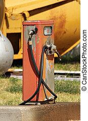 Old Diesel Pump