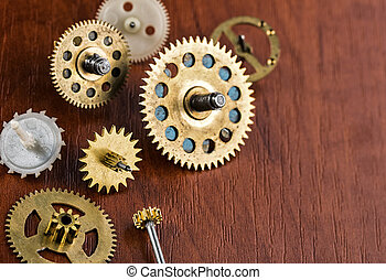 Old different gears