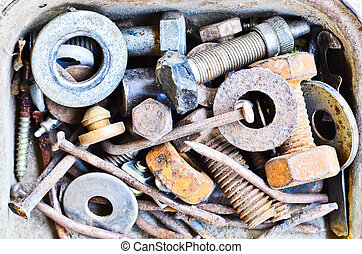 different type of bolts