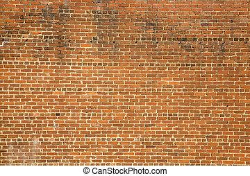 Old Dirty Brick Wall