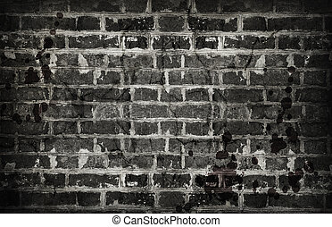 old dirty brick wall background