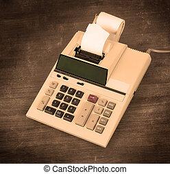 Old dirty calculator