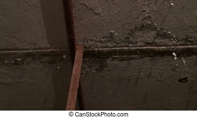 Old dirty ceiling
