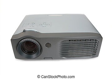 old dirty Multimedia projector