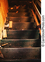 Old Dirty Staircases