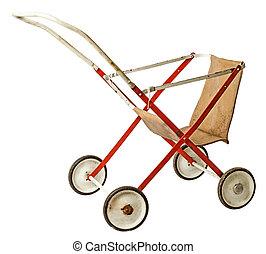 Old doll stroller