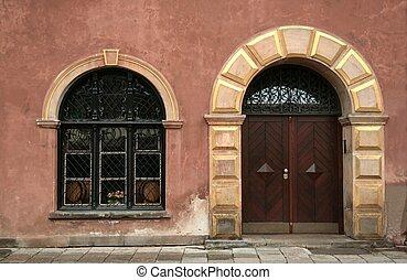 Old Door and Window 2
