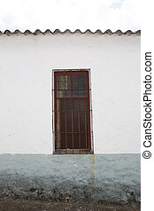 old door in a town house
