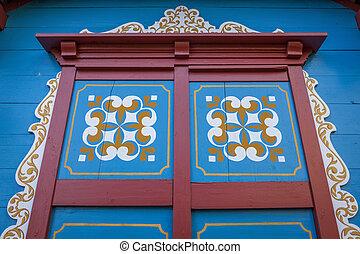 Old door in Lucerne