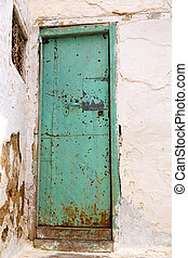old door in morocco africa ancien green - olddoor in morocco...