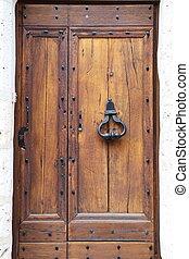 Provins - Old door in Provins