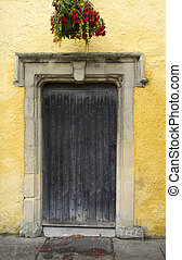 Old Doorway in Cotswolds