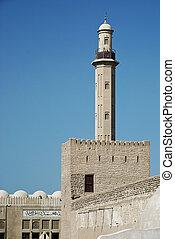 old dubai fort in united arab emirates