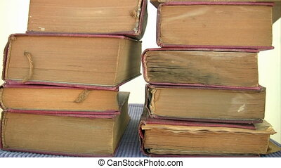 Old dusty books