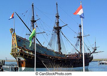 Old Dutch Ship - The Amsterdam