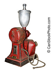 old electric coffee grinder