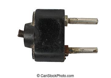 Old electric plug