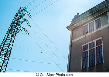 Old Electric Power Substation