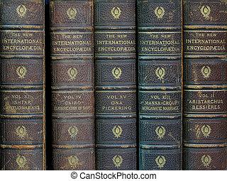 "old encyclopedias - set of old \\\""New International..."