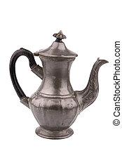 Old english coffe pot