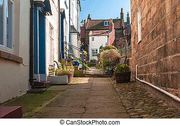 Old English Village Cottages