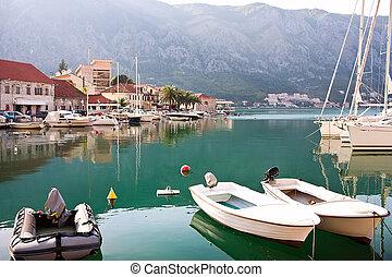 Old Europe city Kotor in Montenegro