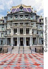 Old Executive Office Eisenhower Building Washington DC