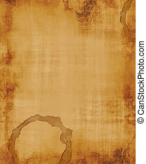 old fabric - a large image of old and worn fabric or paper...