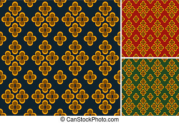 Old fabric pattern