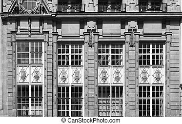 Old facade exterior
