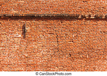 Old factory brick wall
