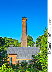 Old Factory Chimney