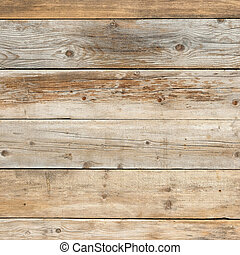 Old faded dull pine flat natural wood square background